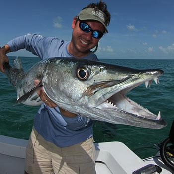 Big game fishing buddy in Panama.
