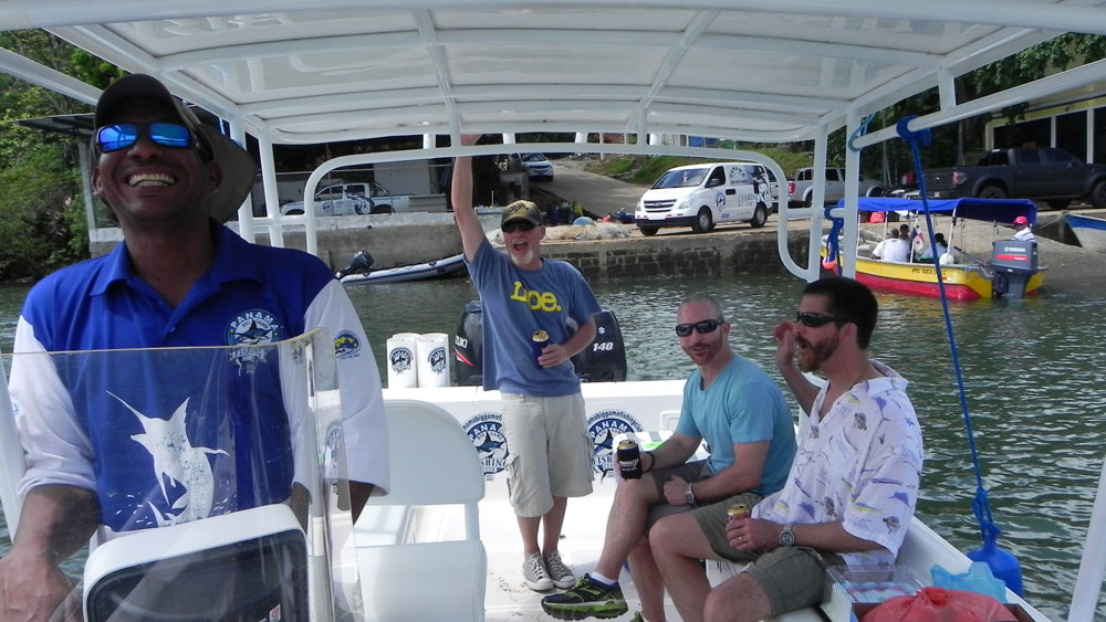 Getting to Panama Big Game Fishing Club