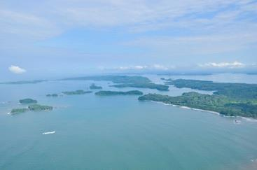 Discover Isla Bocco Brava islands in Panama.