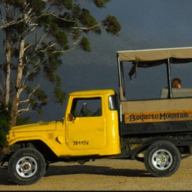 Jeep Safari in Panama.