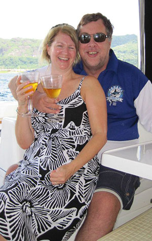 Mark & Karen in Panama