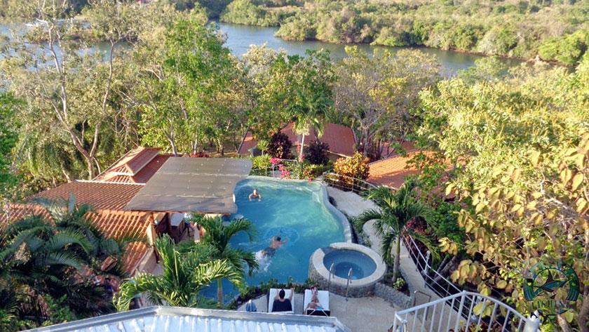 Vista aérea do Panamá Big Game Fishing Club & Resort