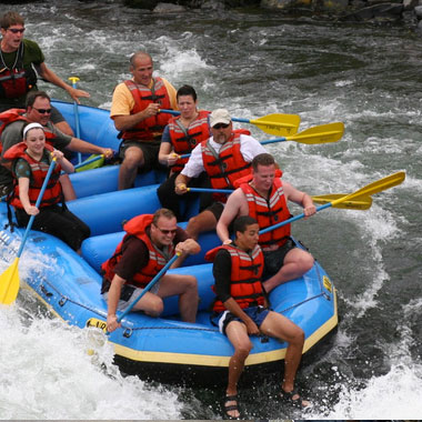 Whitewater Rafting in Panama.